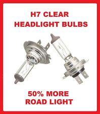 X2 TOYOTA AVENSIS 2003/>2008 HEADLIGHT HEADLAMP BULBS DIPPED BEAM H7 477 2 PRONG