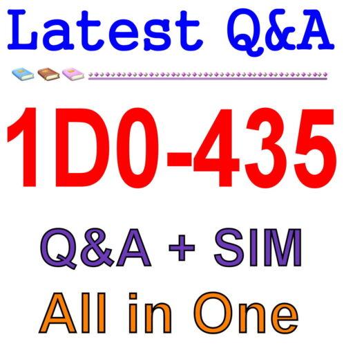 CIW JavaScript Fundamentals 1D0-435 Exam Q/&A PDF+SIM