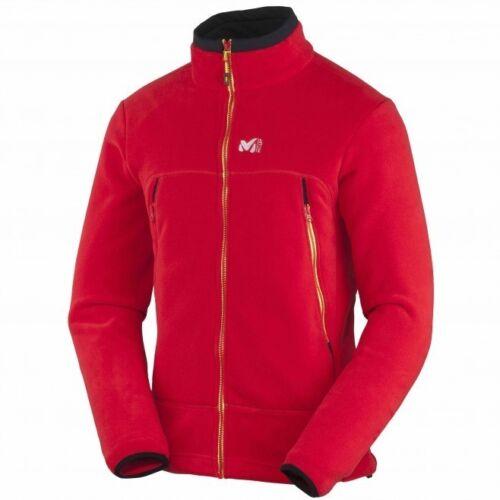 warme Fleecejacke für Herren rot Millet Great Alps Jacket Men
