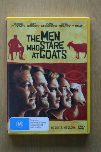 1 of 1 - The Men Who Stare At Goats (DVD, 2010)      Preowned (D204)