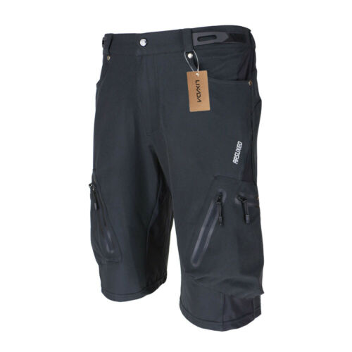 Lixada Arsuxeo Men/'s Cycling MTB Bike Bicycle Cycling Baggy Shorts Pants B4L7
