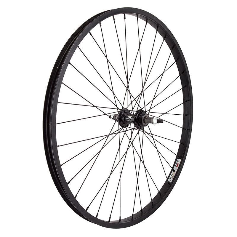 WM Wheel  Rear 26x1.75 559x25 Aly Bk 36 Aly Fw 5 6 7spbo Bk 14gbk