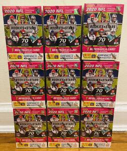 2020-PANINI-ROOKIES-amp-STARS-NFL-FOOTBALL-BLASTER-BOX-TUA-HURTS-HERBERT-PRIZM-RC