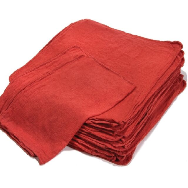 cleaning towels red large 14x14 ga towel brand 1000 new industrial shop rags