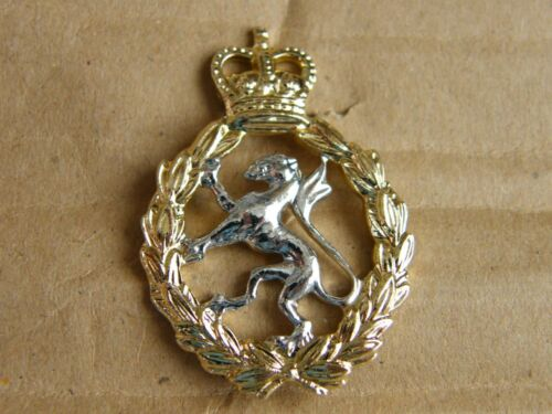 THE WOMENS ROYAL ARMY CORPS MILITARY ARMY BADGE