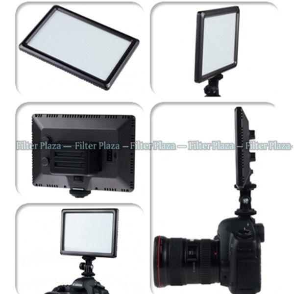Pro Ultra Thin 112-LED Video Light Pad for Canon Nikon DSLR Camera DV Camcorder