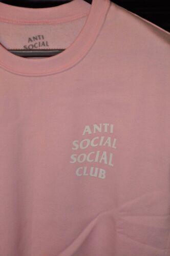 """ANTI sociale sociale Club /""""sapere è meglio/"""" girocollo-ROSA"""
