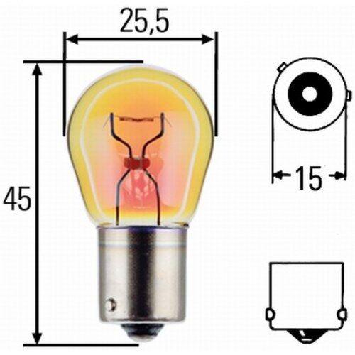 HELLA Glühlampe, Blinkleuchte, Glühlampe, Blin 8GA 006 841-241