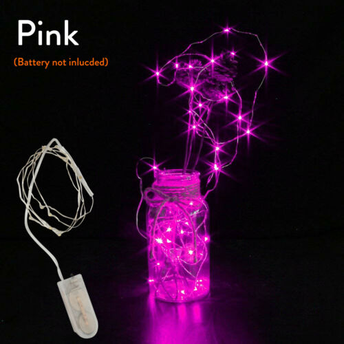 Battery Powered 20 30 LED Micro Copper Wire String Fairy Light Party Decor SS325