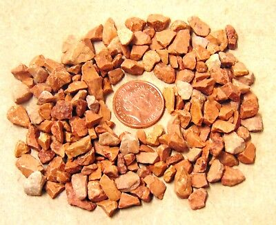 50g Packet Of Terracotta Coloured Stones Doll House Garden Accessory 50za