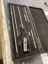 Starrett No 124 A Inside Diameter Micrometer Set 2 8 Inch Qq222