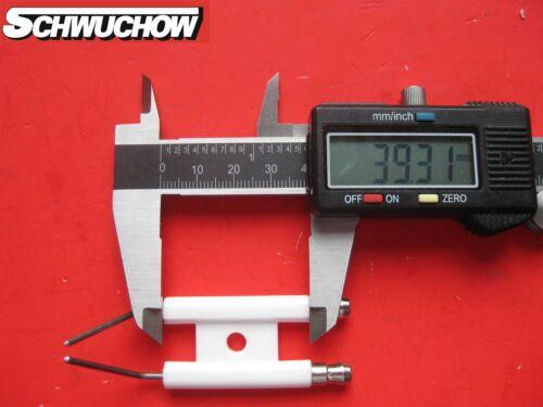1 Zündelektrode Giersch R 1-V-L  31-50-11411 neu Doppelelektrode Elektrode