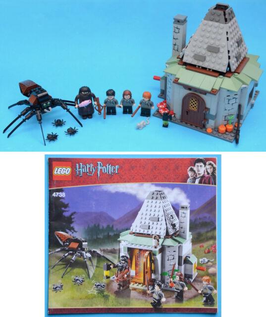 LEGO 4738 - Hagrid's Hut (3rd edition) - Harry Potter - 2010 Ron Hermione Aragog