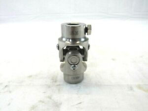 13//16/'/'-36 X 3//4/'/' Round Universal Steering Shaft U-Joint Stainless BPS-3055