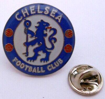 Obligatorisch Pin / Anstecker + Fc Chelsea London + Crest Badge Vers.2 + Fußball England #192 Zahlreich In Vielfalt