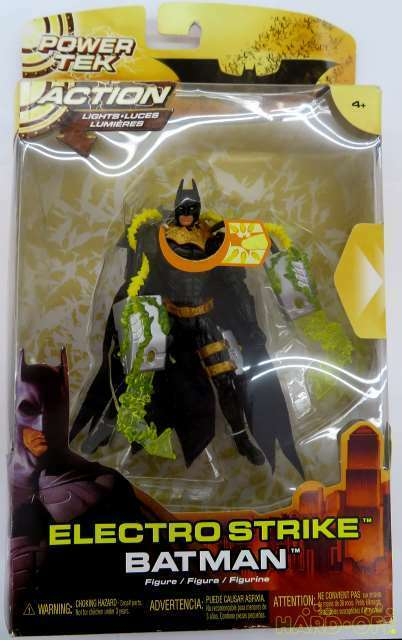 Mattel Electro Strike Batman Figure