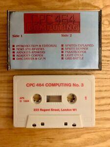 Amstrad CPC - CPC 464 Computing Issue No. 3 - Cassette Magazine