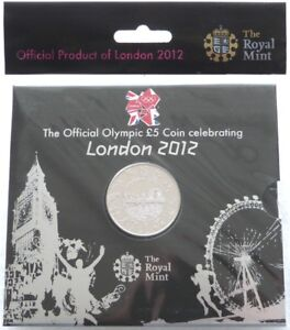 2012-Royal-Mint-London-Olympic-Games-BU-5-Five-Pound-Coin-Pack