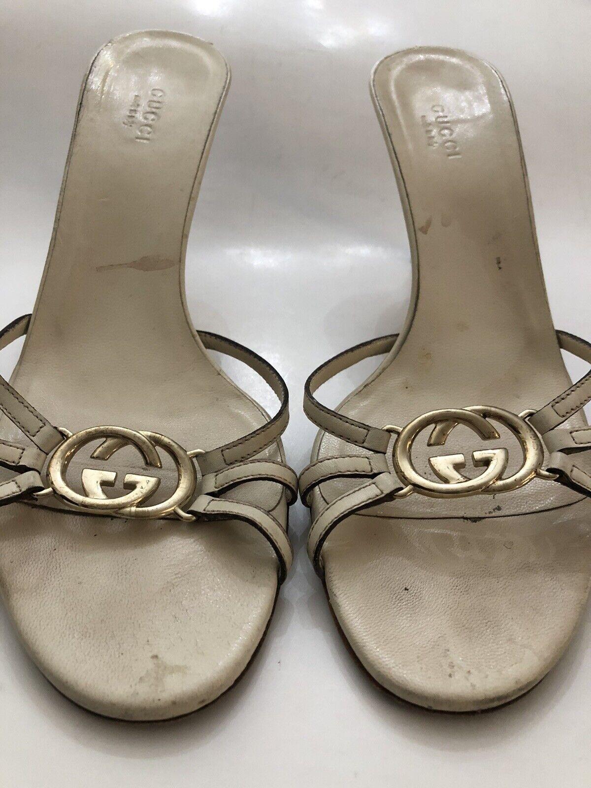Gucci Off White Women Shoe 8B  - image 1