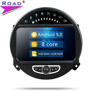 Android 9.0 Car Dvd Gps Player For Bmw Mini Cooper 2006 2013 Stereo Navigation by Road Lover