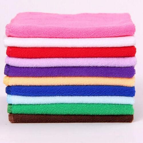 5pcs absorbant microfibre serviette de voiture à domicile lavage propre I