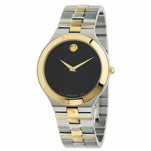 Movado 0607443 Men's Juro Black Quartz Watch