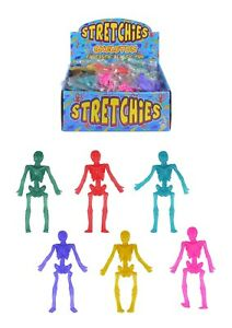 Stretchy-Skeletons-Boys-Girls-Kids-Party-Bag-Fillers-Pinata-Toys