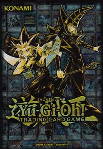 Yugioh-Golden-Duelist-Card-Sleeves-50-Stueck-NEU-OVP-Huellen-Schutzhuellen