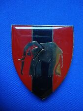 SOUTH AFRICA AFRICAN E.P. COMMD. PRO UNIT MILITARY BREAST BADGE 60mm ELEPHANT