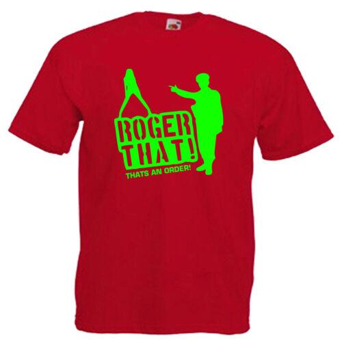 ROGER che DIVERTENTE ESERCITO Children/'s Kids T Shirt