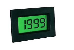 LCD-13-mm-Panelmeter-Einbau-Voltmeter-3-st-200-mV-DC