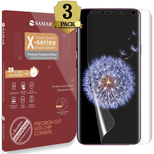 Details about SAMAR Samsung Galaxy S9 & S9 Plus Screen Protector Case  Friendly Touch Sensitive