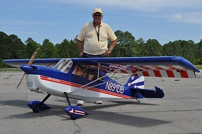 50% Scale Super Decathlon  Giant Scale RC AIrplane Printed Plans