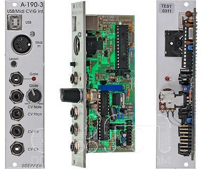 Doepfer A-190-3 USB/MIDI CV/Gate Interface : Eurorack : NEW : [DETROIT MODULAR]