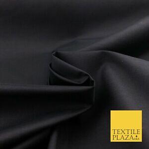DéVoué Doux Luxe Ultra Haute Qualité Noir Uni Poly Tissu De Coton Robe Artisanat - 1439-afficher Le Titre D'origine