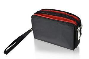 Nylon-Klett-Handy-Etui-Case-fuer-Google-Pixel-3a-Huelle-Guertel-Tasche-3-Faecher