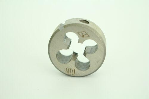 New Fast Tapping Screw Die M10x1.5mm Alloy Steel Durable Round Thread Die