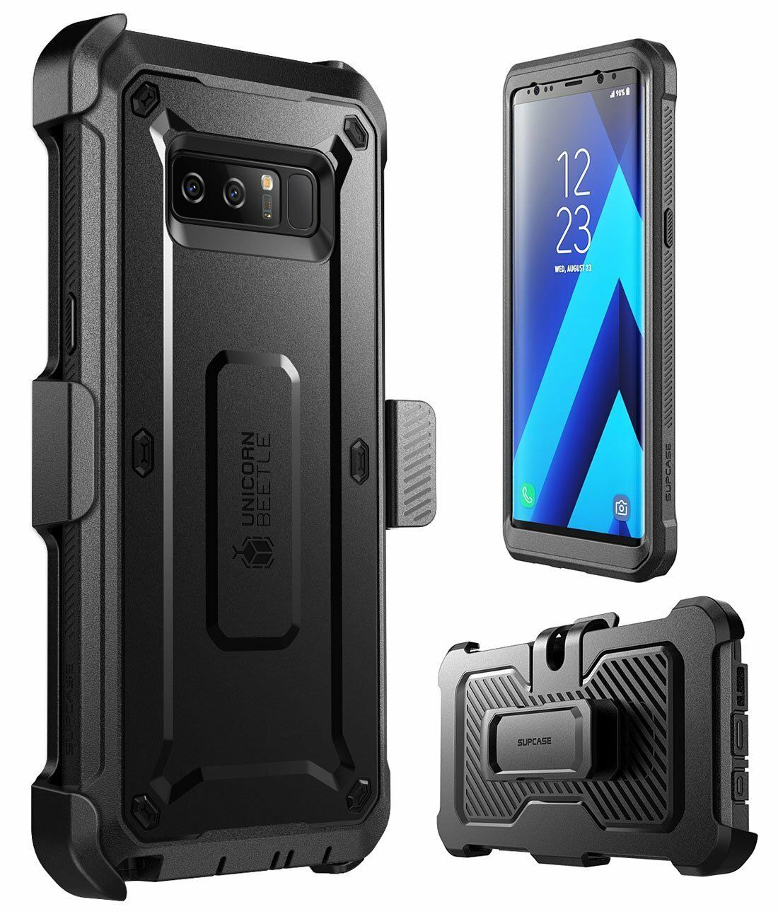 best sneakers 27845 28860 SUPCASE Full-Body Rugged Holster Case with Built-in Screen Protector for  Galaxy Note 9