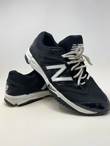 Mens-Size-11-5-New-Balance-Pro-Bank-Baseball-Shoe-All-Terrain-Running-Golf-Black