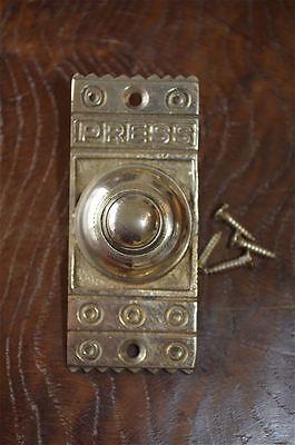 Estilo victoriano de latón Frontal Timbre Pulsador Bell Empujador puerta Bell Z3