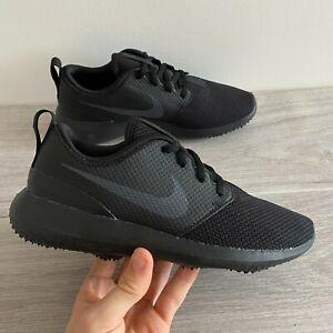 Nike-Womens-Roshe-G-Golfschuhe-UK-4-5-us-7-eur-38-Schwarz-aa1851-007