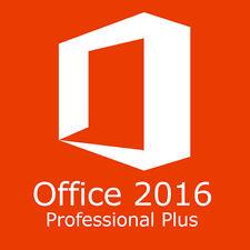 Office Professional Plus Original 2016 Bit product key license for PC 32/64 Bit