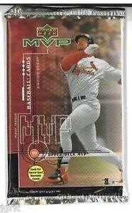 1 new baseball PACK - 1999 UPPER DECK MVP game used jer
