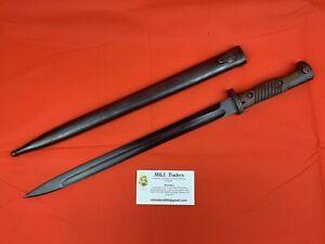 Original-WWI-WWII-German-Butchers-Bayonet-Numbers-Matching-Conversion-RARE