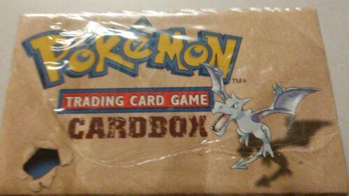 RARE empty Pokemon 1999 Trading Card Storage Box Cardbox fossil vintage old x1