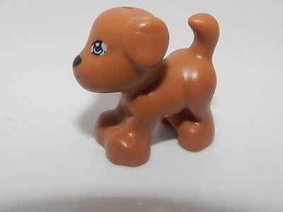 Lego Medium Dark Flesh Dog With Face Pattern