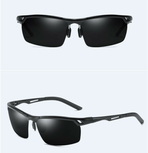 Men/'s Aluminum Polarized Photochromic Sunglasses Driving Glasses Fishing Eyewear