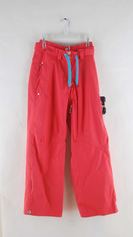 Trespass Women's Shauna Zipper Vented Ski & Snowboard  Pants Coral bluesh Pink Red  on sale 70% off