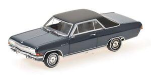 Opel-Diplomat-V8-Coupe-039-1965-Blue-1-43-Model-400048021-MINICHAMPS