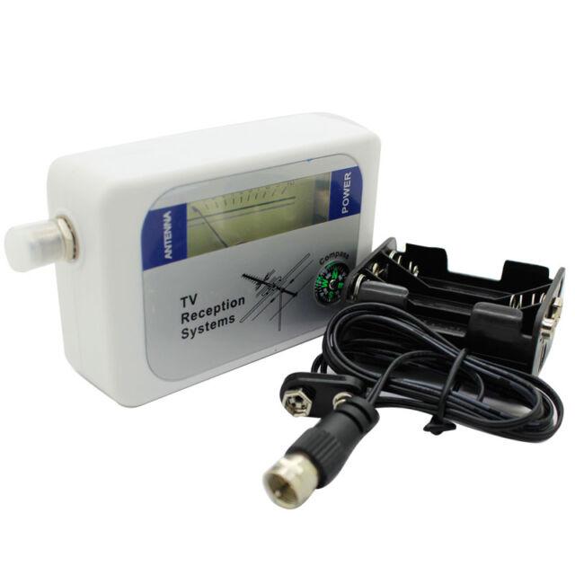 DVB-T Signal Finder Digital Aerial Terrestrial TV Antenna Signal Strength Meter